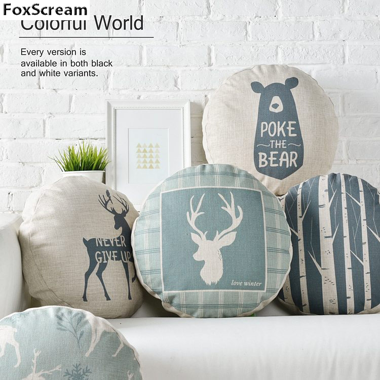 Popular Round Blue PillowBuy Cheap Round Blue Pillow lots from