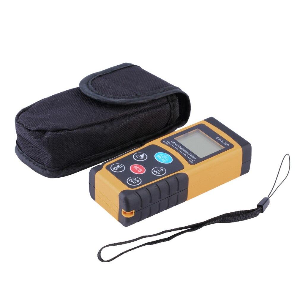 ФОТО 100m Mini Digital Laser Distance Meter Range Finder Measure Diastimeter hot sales