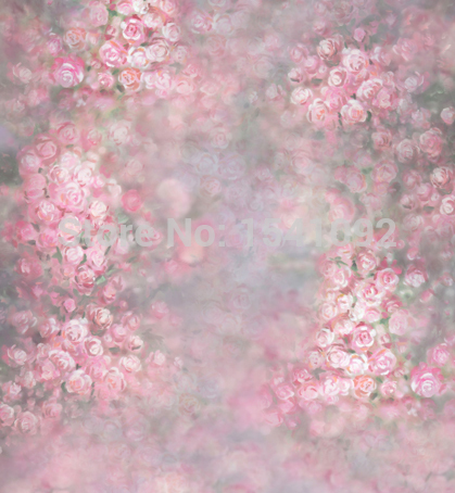 Thin vinyl photography backdrops floral computer Printing cloth photo background for children S-100