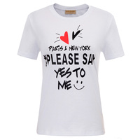 Summer Tops T shirt Shirt Comfy Graphic Slim fit Letter printed Short sleeves