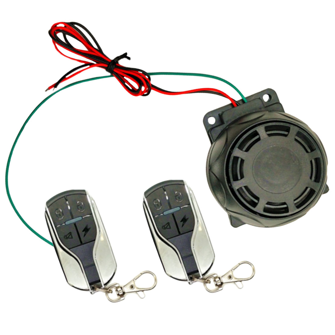 Motorcycle Anti-theft Bike Scooter Alarm Systems Remote Control Motorbike Security Alarm Systems Dual Remote Control Power