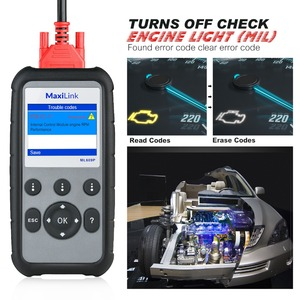 Image 4 - Autel MaxiLink ML609P Auto Diagnostic Tool Car Scanner Code Reader OBD2 Code Scan Tool View Freeze Frame Data Diagnostic tool