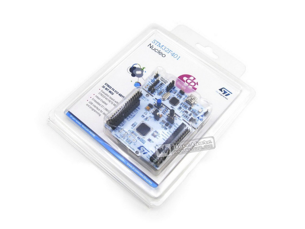 Original ST NUCLEO-F401RE Development Board For STM32 F4 Series - With STM32F401RE MCU Supports ArduinoFree Shipping