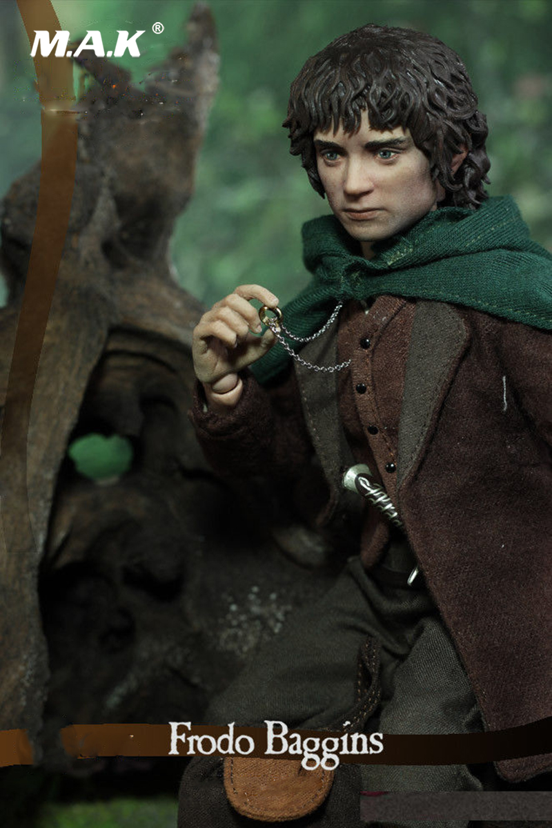 1:6 Scale Frodo Baggins The Lord of the Rings Action Figure for Collection 1 6 scale full set soldier the lord of the rings elven prince legolas action figure toys model for collections