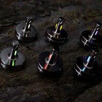 Chegam novas DIY EDC Trítio Tubo Versão Bronze/Brinquedos Giroscópio Criação de Titânio EDC Ferramentas Multi
