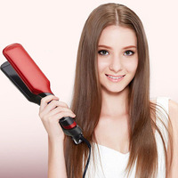 Straightener LCD display 230 display temperature hair straightener flat iron multi function ferrite magnet
