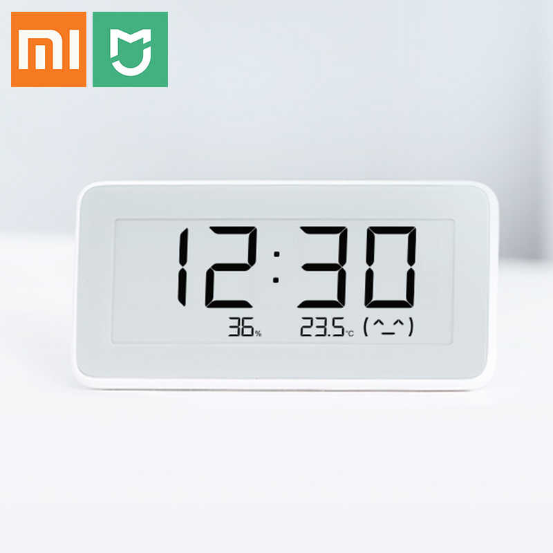 Xiaomi Mijia Bluetooth Temperature Humidity Sensor E-link LCD Screen Digital Thermometer Moisture Meter Smart Linkage Mi Home AP