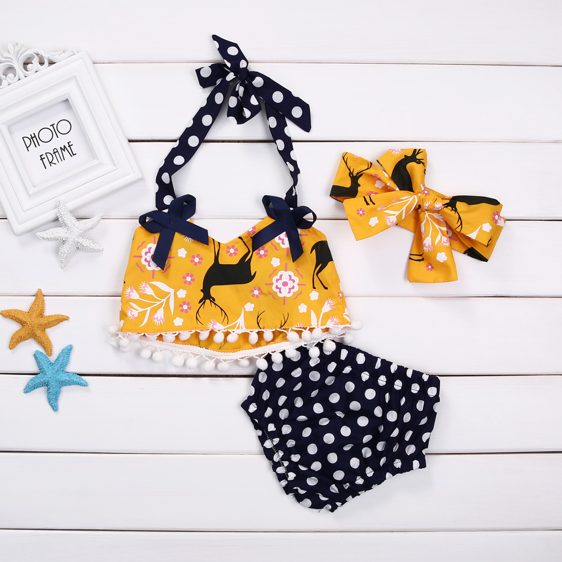 3PCS-Set-Newborn-Baby-Girl-Clothes-2017-Summer-Cute-Bebes-Sleeveless-Tassel-Crop-Top-Vest-Shorts-BottomHeadband-Outfit-Suit-2