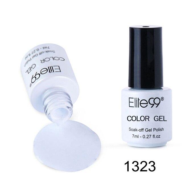 Elite99 7 ml UV Reine Farbe Serie Gel Nagellack Langlebige Nagel Gel Polnisch Vernis Semi Permanent Nagel Primer gel Lacke