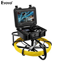 Eyoyo 9600A 9 1200TVL 20M Pipeline Endoscope Inspection Camera Underwater Industrial Pipe Sewer Drain Wall Video Camera System