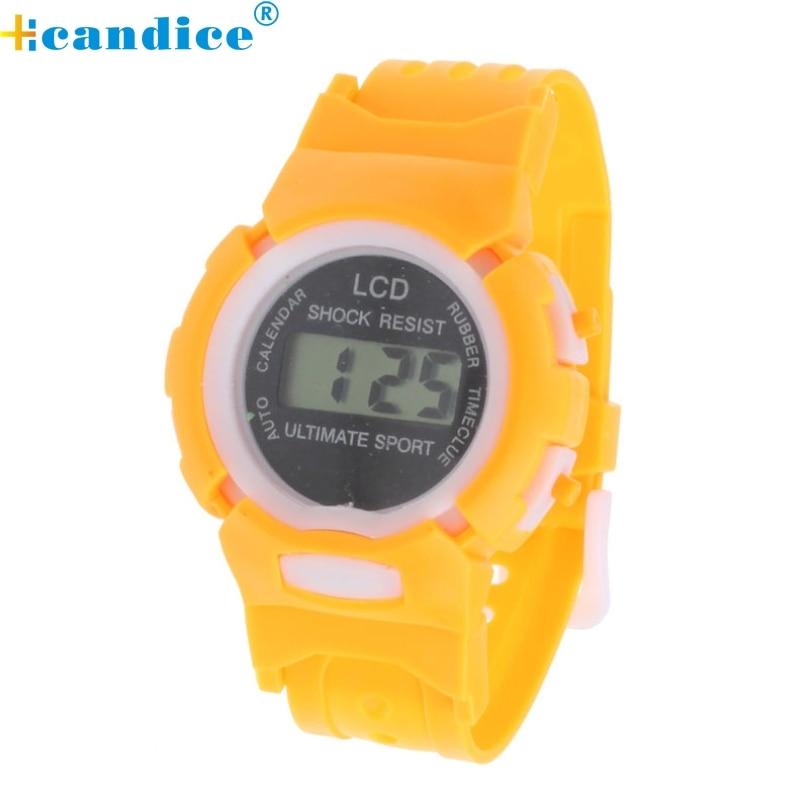 Relogio Masculino Erkek Kol Saati Reloj Mujer Student Time Sport Electronic Digital LCD Wrist Watch Boys Girls Horloge