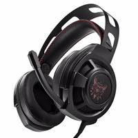 ONIKUMA M190 Black 3 5mm Computer Over Ear Headset With Mic Good Quality Sound Gaming Headphones