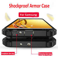 Luxury Armor Shockproof Bumper Case For Samsung Galaxy A50 A30 A10 A40 M20 A20 Case Cover A5 2017 A7 A8 2018 Silicone Soft Case