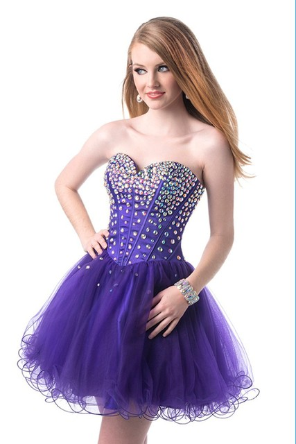 Formal Dresses for Purple Jewelry