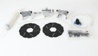 1/5 Baja NEW Front Hydraulic Disc Brake Set for 1/5 scale HPI KM RV Baja 5B SS Front Wheel