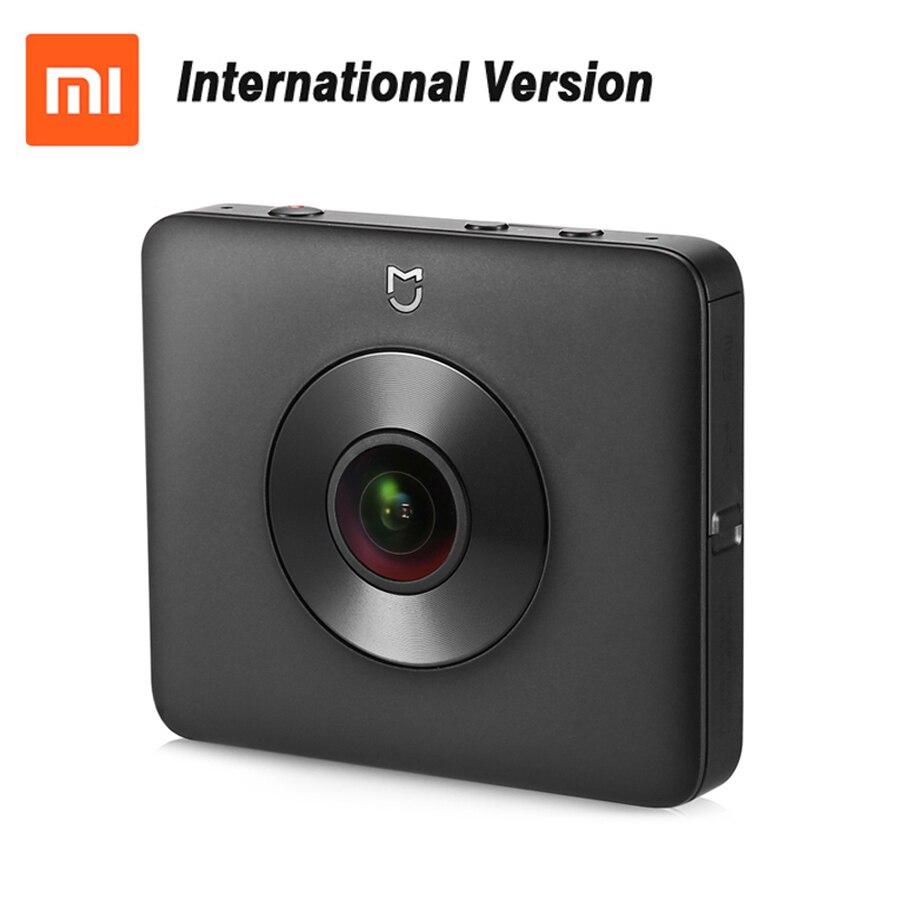 Mondial Version Xiaomi Mijia Sphère 360 Panorama caméra d'action 23.88MP Capteur Ambarella A12 3.5 K Vidéo Enregistrement WiFi Bluetooth
