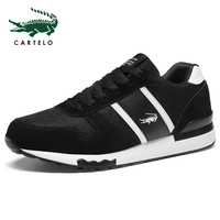 CARTELO Men's Shoes Casual Canvas Shoes Fashion Sneakers Summer Trainers Leisure Shoes Soft Comfortable Shoes Men Simple