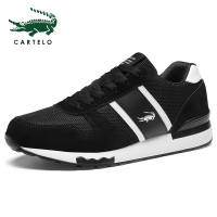 CARTELO Men's Shoes Casual Canvas Shoes Fashion Sneakers Summer Trainers Leisure Shoes Soft Comfortable Shoes Men Simple