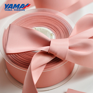 Image 2 - YAMA 100% Polyester Silky Ribbon Double Face  Printed Ribbons 22 25 32 38 mm 100yards Gift Decoration Arts and Crafts
