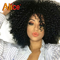 Kinky Curly Lace Wigs Full Lace Lace Front Human Hair Wigs With Bangs Glueless Human Hair Wigs Lace Frontal Wig With Baby Hairs