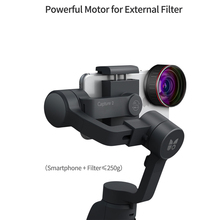 2019 new Funsnap Capture 2 3-axis Phone Handle Gimbal Stabilizer steadicam for Smartphone VS Zhiyun Smooth 4 Feiyu Vimble 2