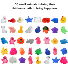 3pc/lot Bath Toys Baby children playing with water toys infant bath toys Small yellow duck child is happy to take a bath