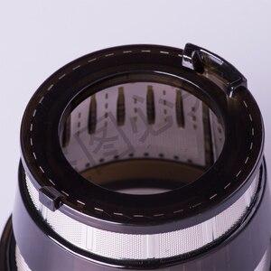 Image 2 - スロージューサー hurom ブレンダースペアパーツ、フィルターネットのジュース抽出小ホール黒、 HU 500DG 、 HU 100PLUS 交換部品