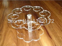 Free Shipping About Cake Candy Holder Transparent Acrylic Ice Cream Display Stand