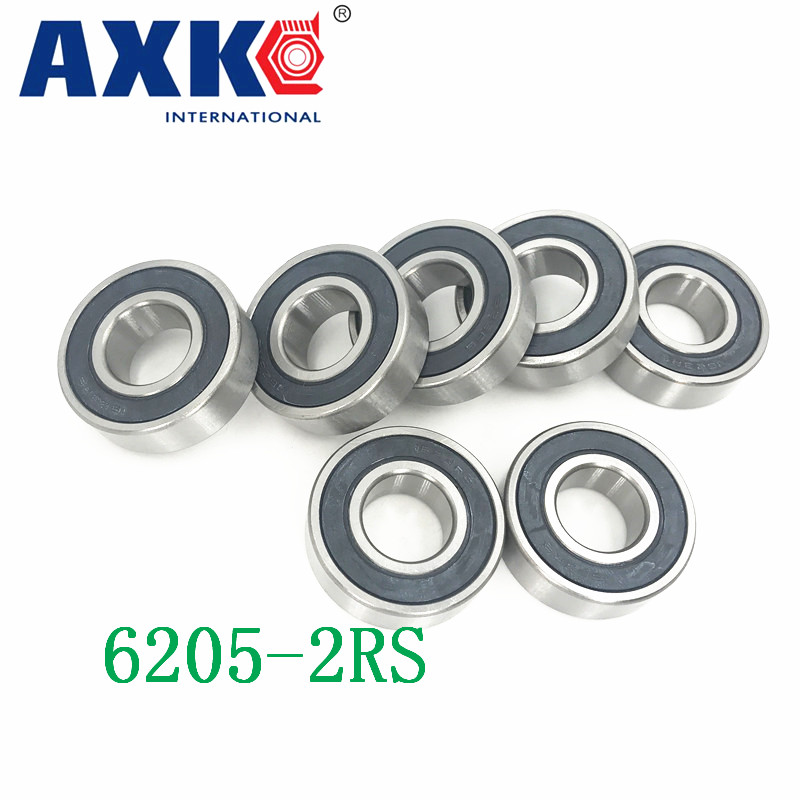 6205rs Bearing Abec-3 (2 Pcs) 25x52x15 Mm Deep Groove 6205-2rs Ball Bearings 6205rz 180205 Rz Rs 6205 2rs Emq Quality 2018 hot sale time limited steel rolamentos 6821 2rs abec 1 105x130x13mm metric thin section bearings 61821 rs 6821rs