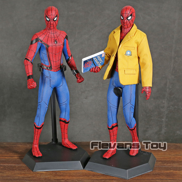 Louco Brinquedos Spiderman Spiderman Versão Deluxe 1 do Regresso A Casa/6th Escala Collectible Figure Toy Collectible Modelo