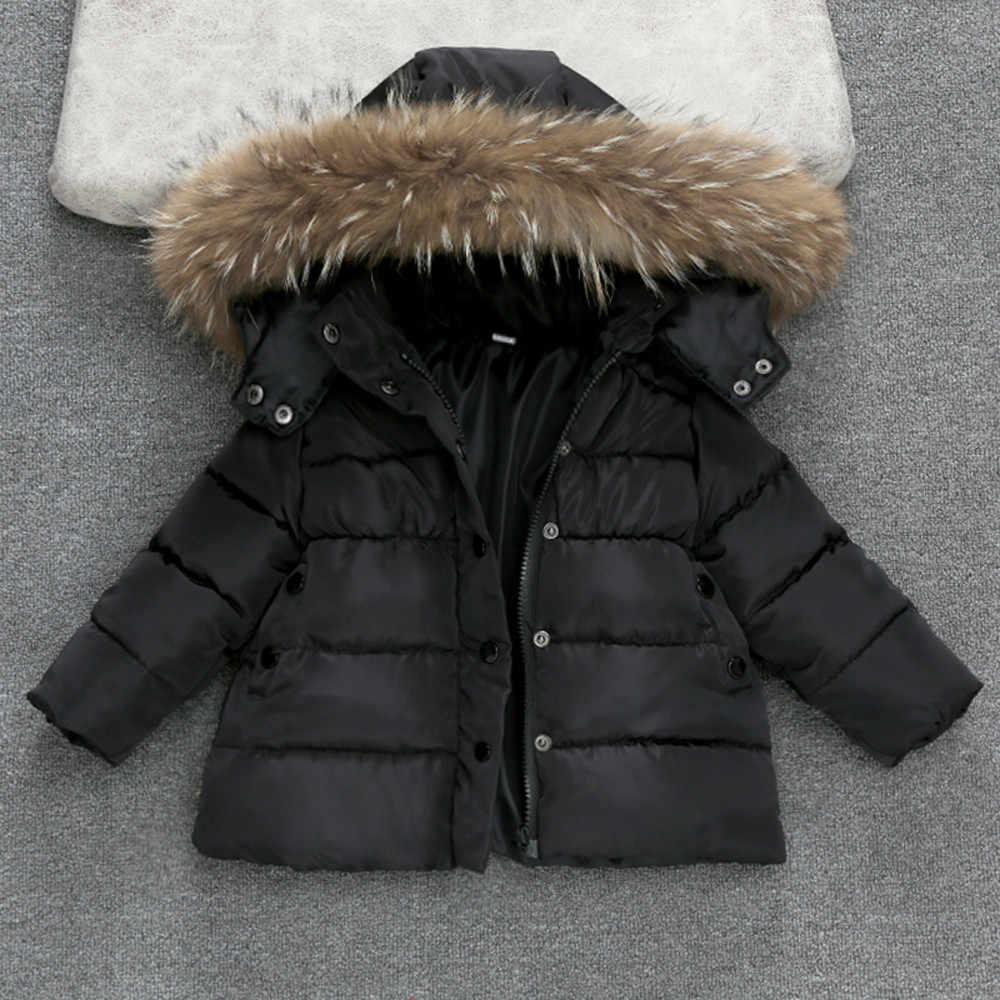 Куртка для маленьких мальчиков, Осень-зима 2018, куртка, пальто, детская теплая плотная верхняя одежда с капюшоном, пальто, одежда для маленьких мальчиков и девочек