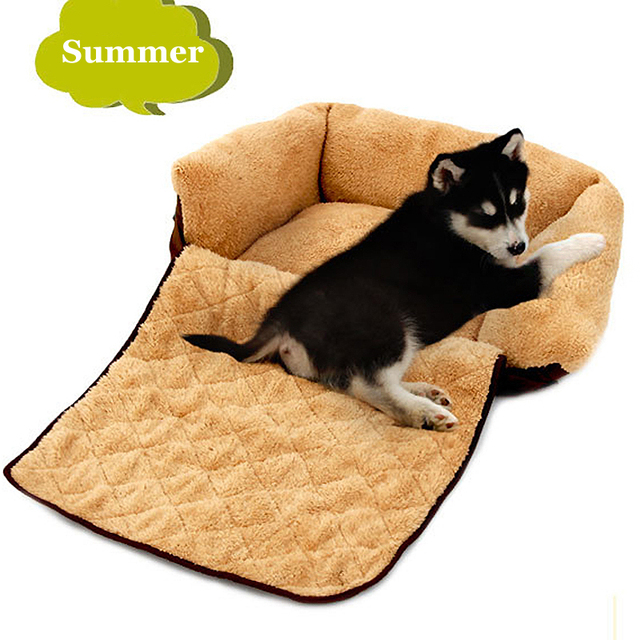 Big Dog Sofa Bed Two Seater Argos Small Medium House Kennel Washable Winter Warm Soft Pet Cat Nest Mat Golden Retriever Cushion