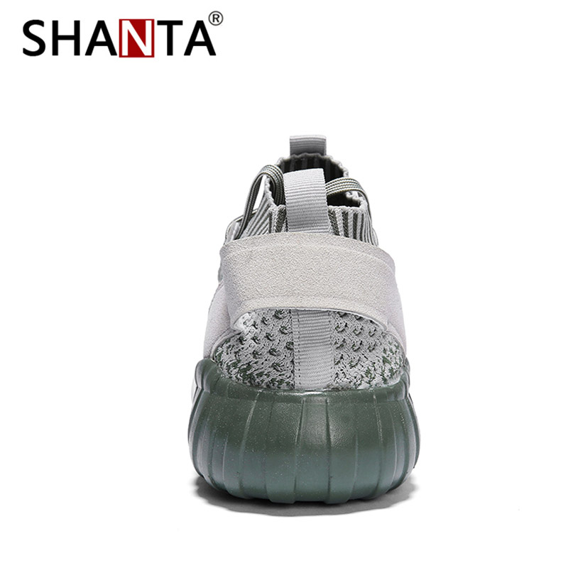 Hombre Black Chaussures Mâle Shanta Lumière white Respirant Deportivas Casual green Mode red De Hommes Sneakers Zapatillas Maille qxOORwzEI