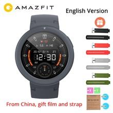 English Version Xiaomi Huami Amazfit Verge Lite GPS Smart Watch IP68 Waterproof 1.3 AMOLED Screen 20 Days Battery Life xiaomi amazfit smart watch english version bip huami gps smartwatch pace lite bluetooth 4 0 heart rate 45 days battery ip68