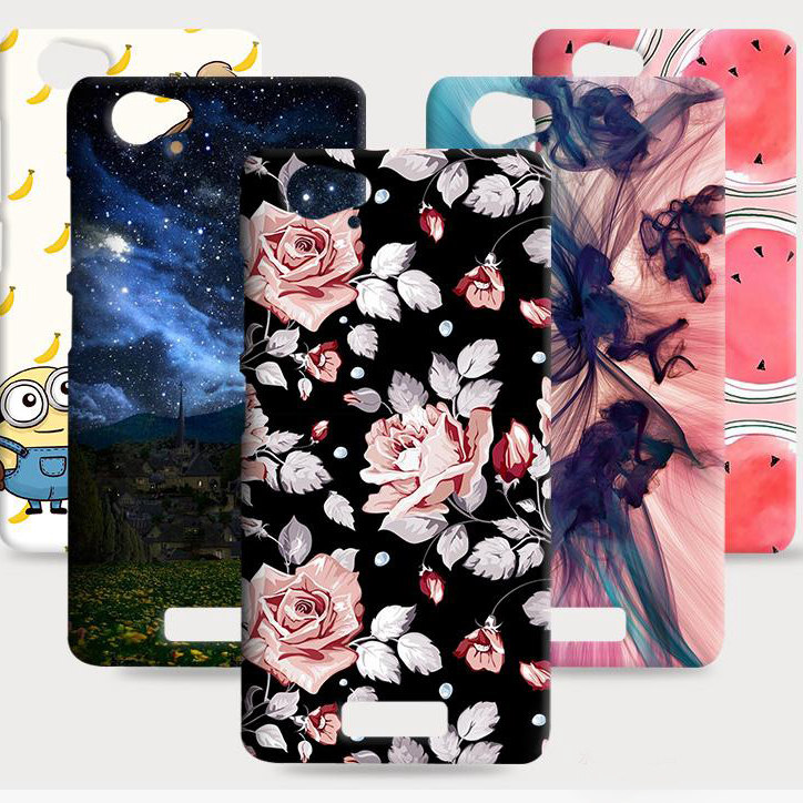 Draw Cute Pattern Hard Plastic PC Case for Qmobiles