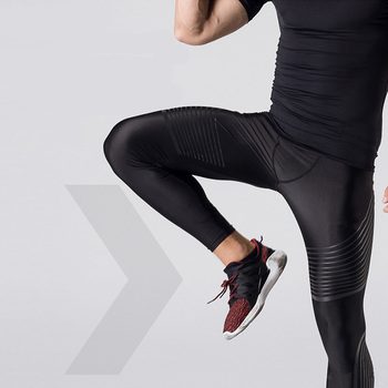 79e8a26c Рашгард мужские s компрессионные Брюки лайкра колготки для бега мужские  леггинсы для фитнеса мужские повседневные штаны для тренажерного з.