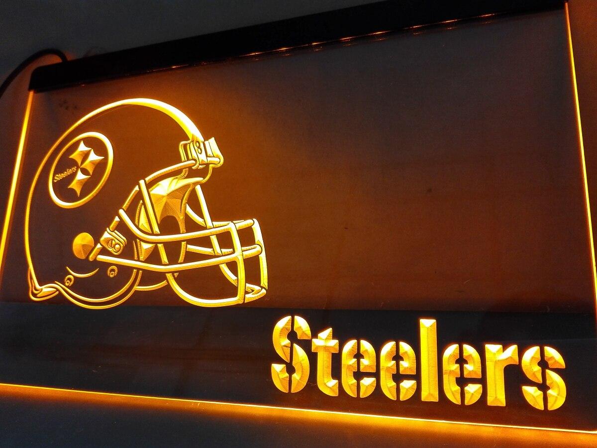 Pittsburgh Steelers Metal Garden Sign