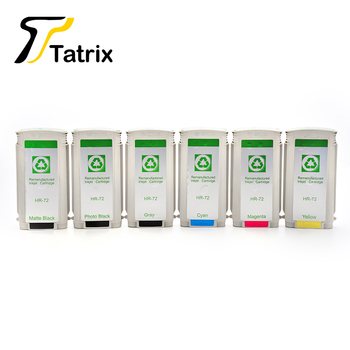 For HP72 ink cartridge compatible for HP C9403A C9370A C9371A C9372A C9373A C9374A use in T610/T770 Hard Drisk/T790ps/T1200 фото