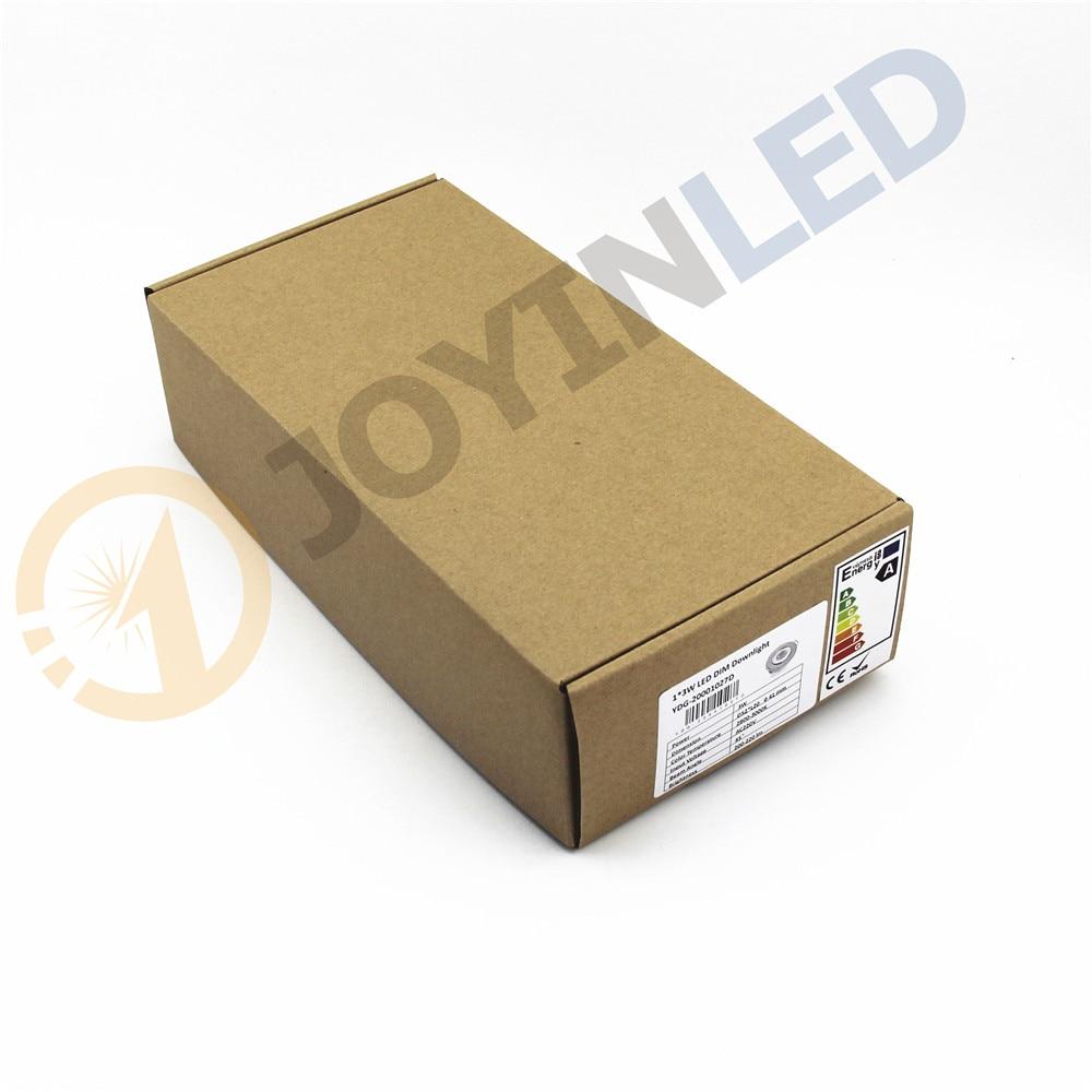 Купить с кэшбэком 10pcs/lot 3W under cabinet home Mini COB led spot downlight Black