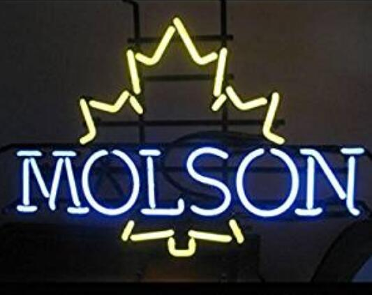 Custom Molson Canadian Lager Neon Light Sign Beer Bar 2
