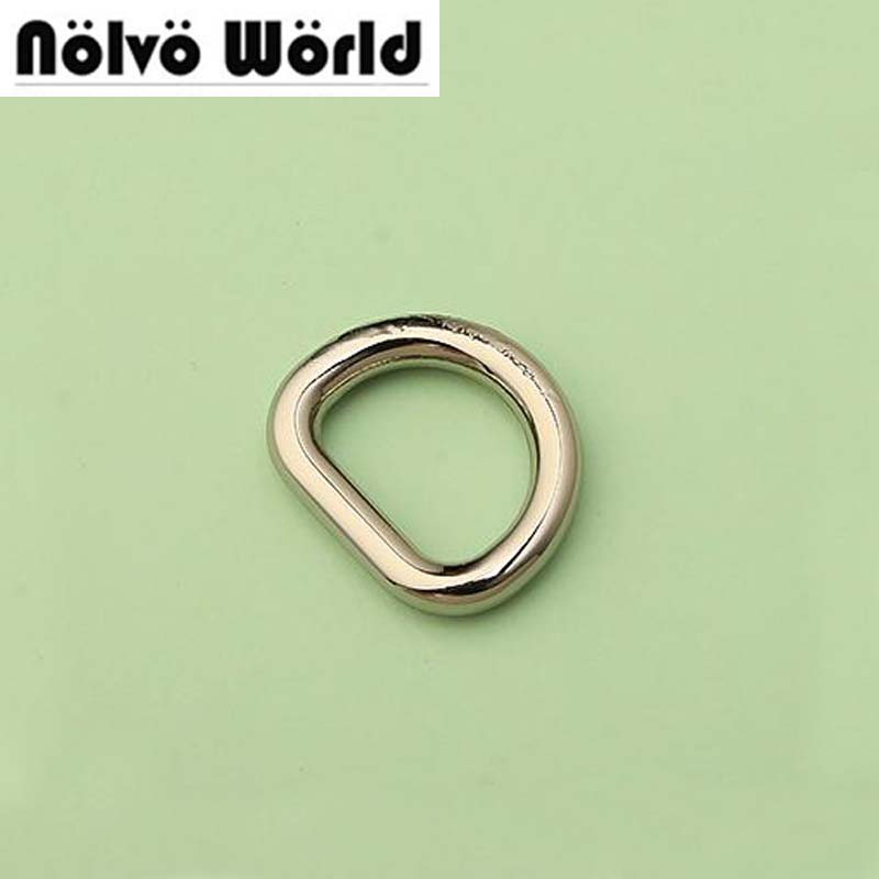 100pcs 5 Colors Round Edge Inside 1.3*1cm 1/2