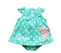 SD1-003, Original, Baby Girls Rompers, Sleeveless, Nice Embroidered, Soft Feeling, Free Shipping