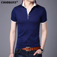 COODRONY Casual Short Sleeve T Shirt Men 2017 Spring Summer New Arrival Top Men Brand Clothing