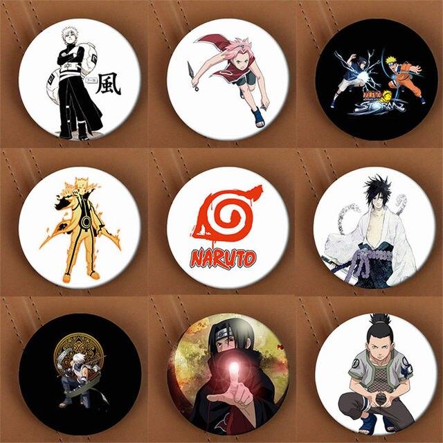 Naruto Cosplay Pin Brooch