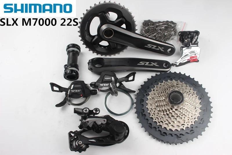 New SHIMANO Deore M6000 M610 3x10 30 Speed MTB Groupset 7 pcs 170MM//175MM