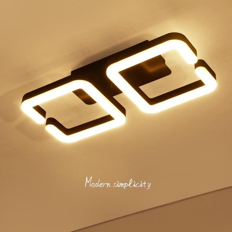 Image 3 - Brown Modern Led Ceiling Chandelier Lamp Lampara de techo Chandelier Lighting For Living Room Bedroom lustre cristal lampadario-in Chandeliers from Lights & Lighting
