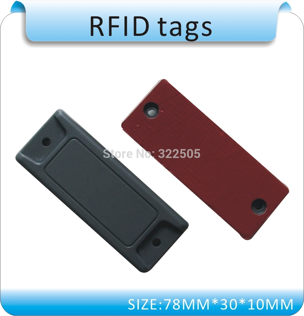 100pcs Specializing In The Production Of Metal Interference UHF 860-960mhz RFID Tags , ISO18000-6C