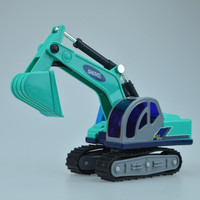 1 Pcs Engineering Vehicle Small Excavator Truck Car Model Toys Plastic Diecast Metal Car Toy Modle