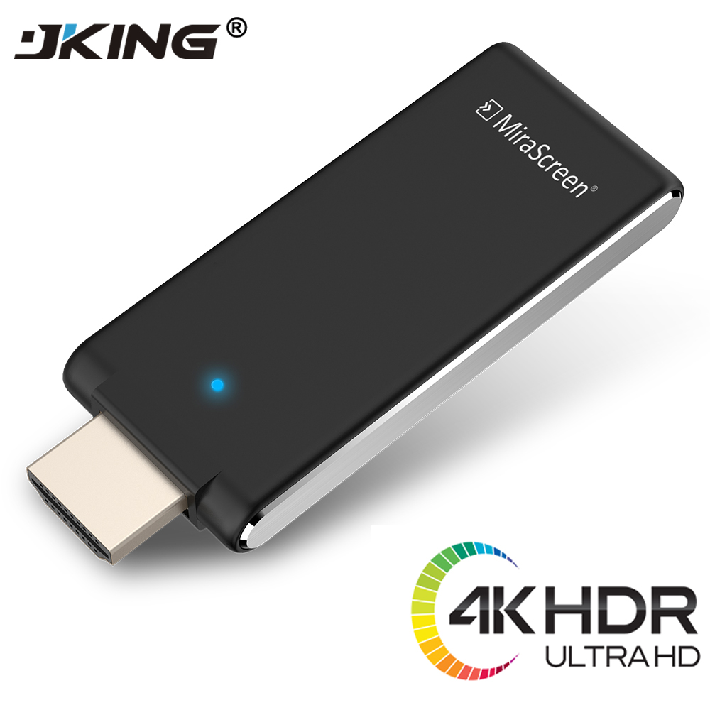 JKING 4K MiraScreen OTA TV Stick Smart TV HD Dongle Wireless Receiver DLNA Airplay Miracast Oneanycasting PK Chromecast 2