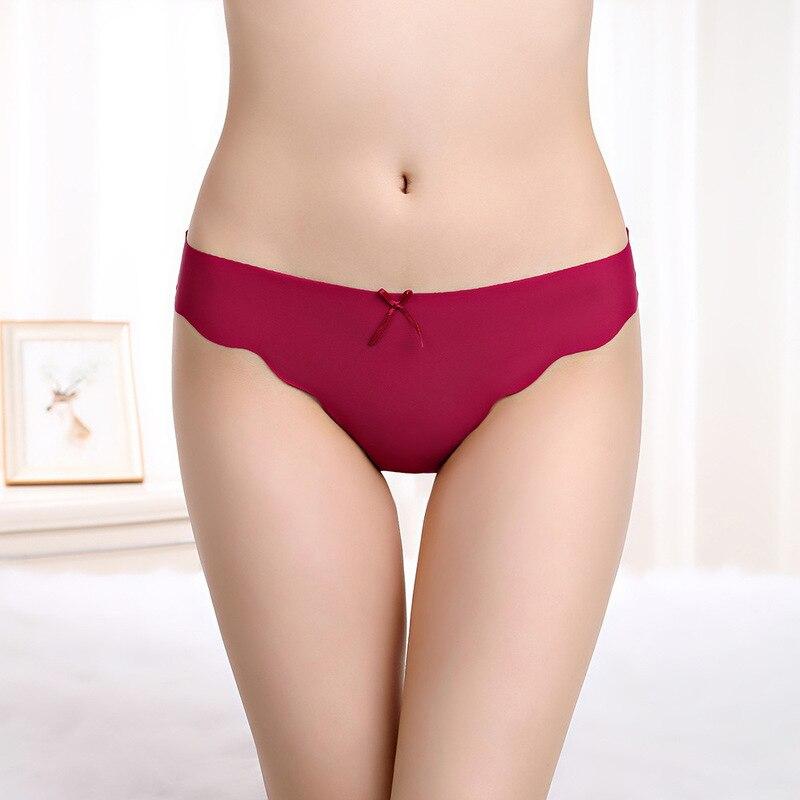 6pcs/lot Low Waist   Panties   Women Sexy G String Seamless Underwear Tangas Nylon Spandex Stringi Women Fashion Ladies Thong 20